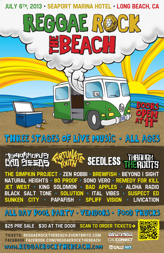 Reggae Rock The Beach